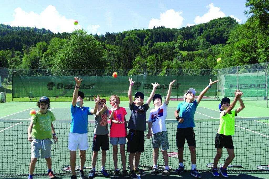 école de tennis compétition